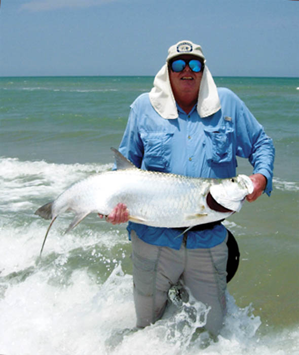 South texas slam a tarpon makes it grand for South texas fishing