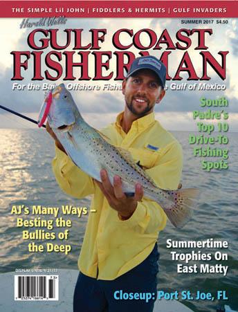 Gulf coast fisherman monthly fishing calendar florida for Florida fishing calendar
