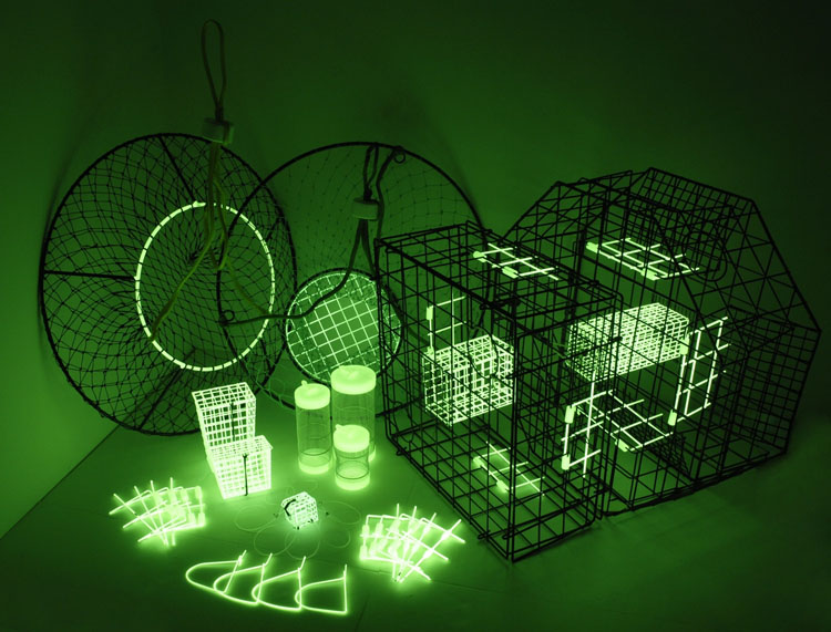 Collapsible Glow In The Dark Crab Traps